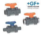 Vannes à billes 542 PVC-U GF
