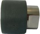 Raccord d'adaptation PVC-U/acier inoxydable femelle cylindrique Rp GF