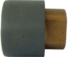 Raccords de transition PVC-U / laiton femelle cylindrique Rp GF