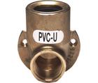 Appliques pour montage sur crépi laiton / PVC-U GF