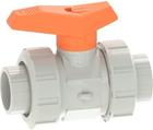 Vanne à bille type 542 PVC-C Avec emboîtures pour collage (métrique) GF