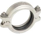 Collier rainuré flexible léger en acier inoxydable de type 316 style 475 Victaulic