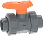 Vanne à bille type 542 PVC-U Avec emboîtures pour collage (métrique) GF
