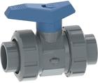 Vanne à bille type 542 PVC-U pour les applications d'eau Avec emboîtures pour collage (métrique) GF