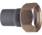 Embouts avant compteur, PVC-U / laiton métrique - G GF