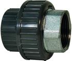 Manchons union d'adaptation, PVC-U / fonte malléable métrique - Rp GF