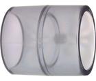 Manchons égaux, transparents, PVC-U métrique GF
