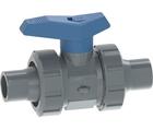 Vanne à bille type 542 PVC-U pour les applications d'eau Avec embouts mâles pour collage (métrique) GF