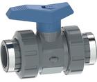 Vanne à bille type 542 PVC-U pour les applications d'eau Avec emboîtures taraudées (Rp) GF