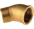 Coude 45° raccord bronze