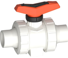 Vanne à bille type 546 Pro SYGEF Standard Avec embouts mâles pour soudage bout à bout IR-Plus métrique GF