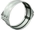 Collier rainuré flexible à retenue pour déviation angulaire de joint dynamique pour l'acier inoxydable style 233S Victaulic