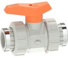 Vanne à bille type 542 PVC-C Avec emboîtures taraudées (Rp) GF
