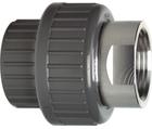 Manchons union d'adaptation, PVC-U/acier inox métrique - Rp GF